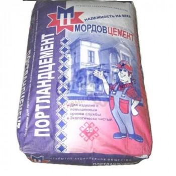 Цемент Мордовцемент М500 Д20 мешок 50кг