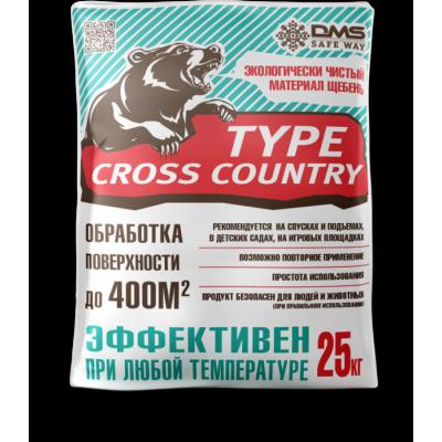 Кросс кантри тайп (гранитная крошка фр.2-5мм), фасовка 25кг