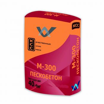 Пескобетон М300 ГОСТ (фасовка 40 кг)