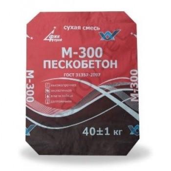 Пескобетон М300 ЛЮКС (фасовка 40 кг)