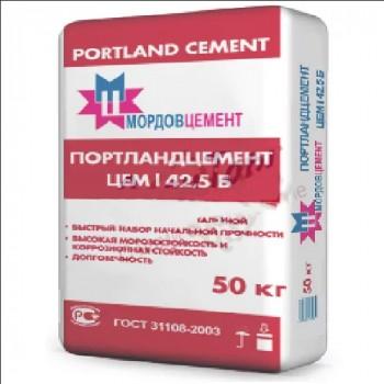 Цемент Мордовцемент М500 Д0 мешок 50кг
